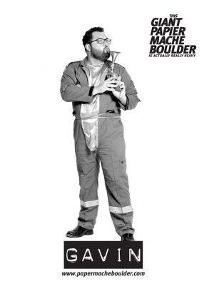 Gavin Character Poster