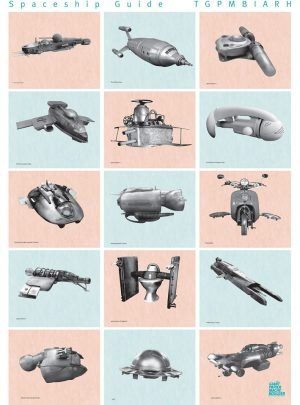 Spaceships Poster